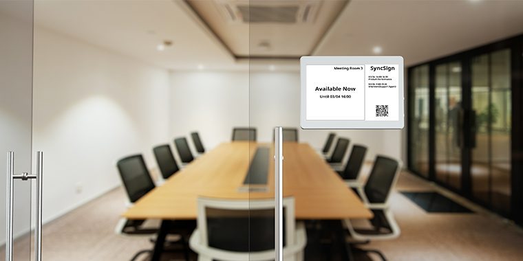meeting room signage available